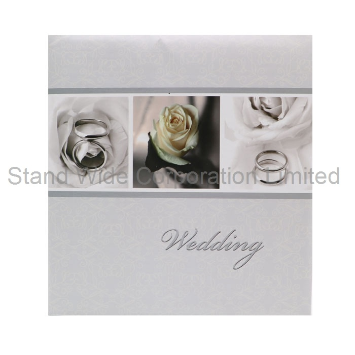 China Self Adhesive Sheets Wedding Photo Album With Paper Box Photos