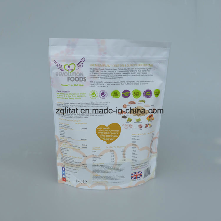 Customized Printed Side Gusset Plastic Food Packaging Bag pictures & photos