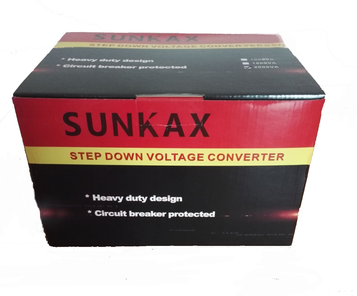 China Sunkax 220v To 110v Step Down Transformer For Home Use Photos Up Circuit Breaker Protection