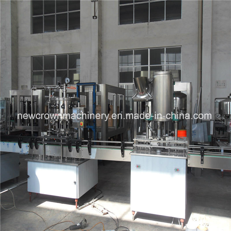 Economic Linear Type Carbonated Drink Filling Machine pictures & photos