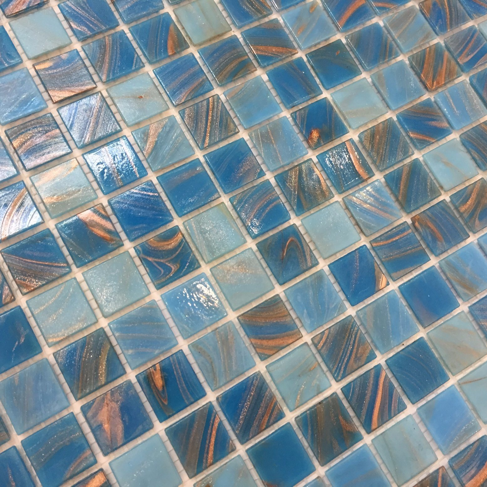 China Stocks Hot Sale Iridescent Glass Mosaic Pool Tile (H420045 ...