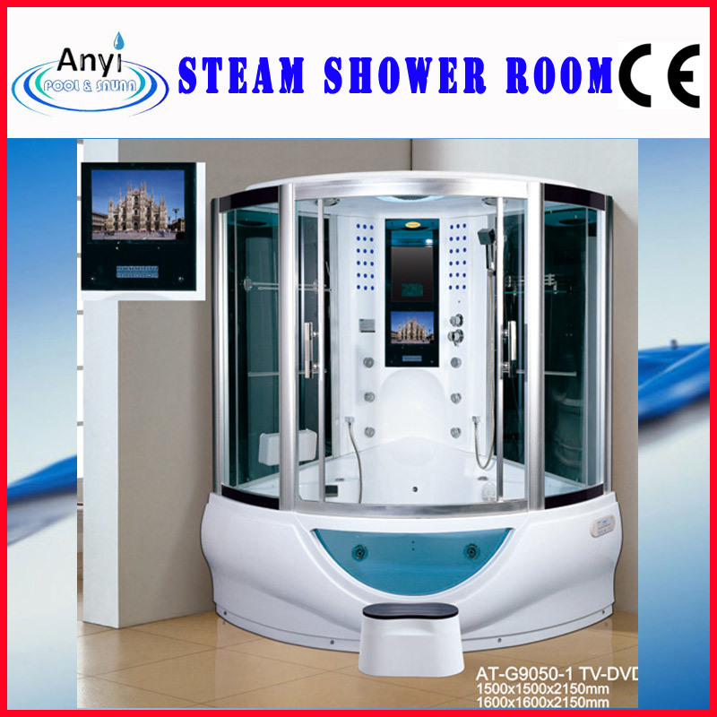 China Steam Shower Room, Enclosed Steam Shower Room (AT-G9050-1 TV ...
