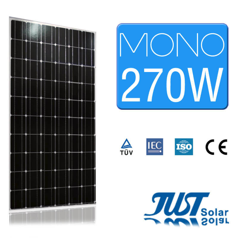 270W Mono PV Module for Sustainable Energy
