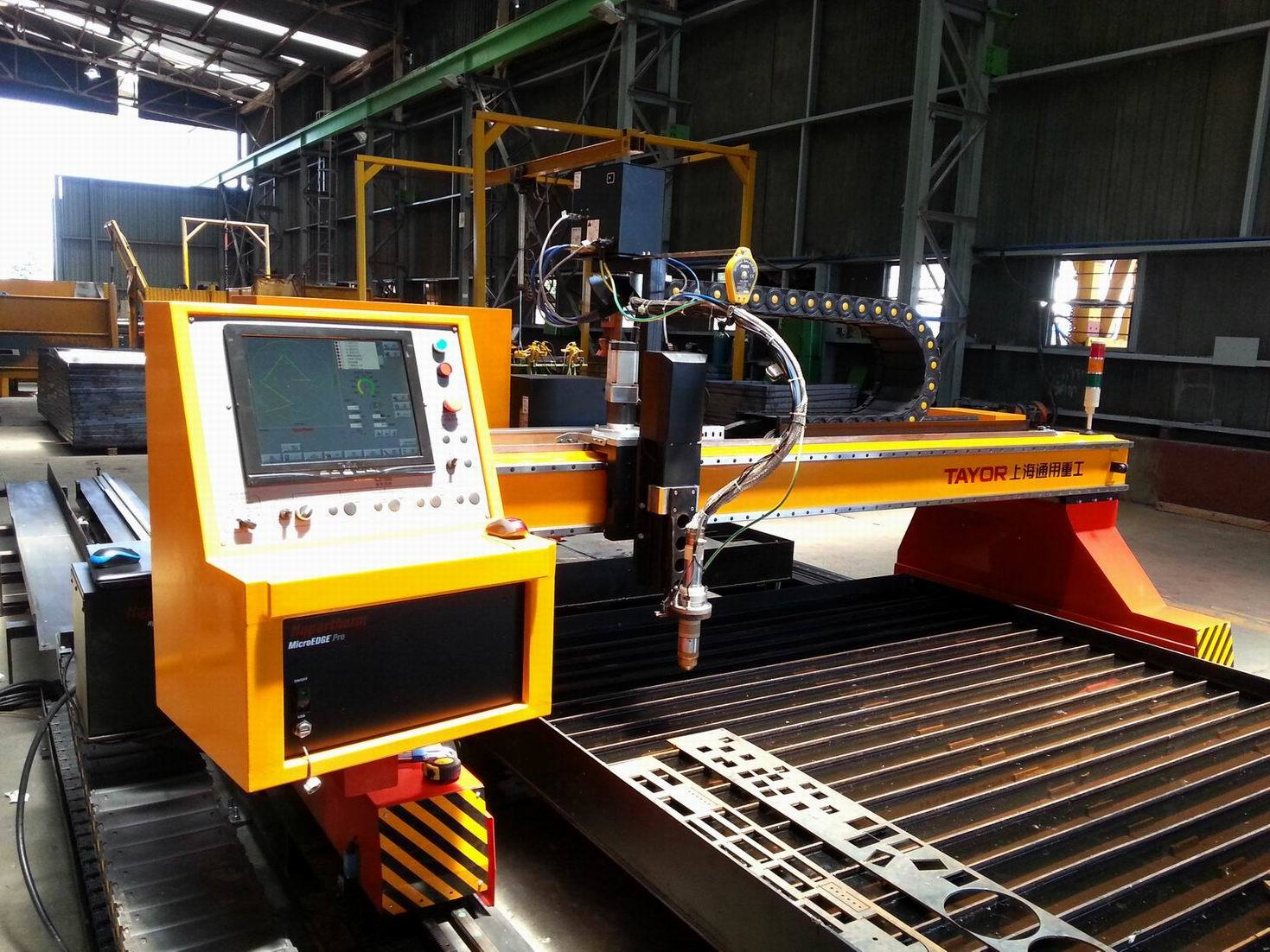 4X12m High Precision Steel Plate CNC Plasma Cutter pictures & photos
