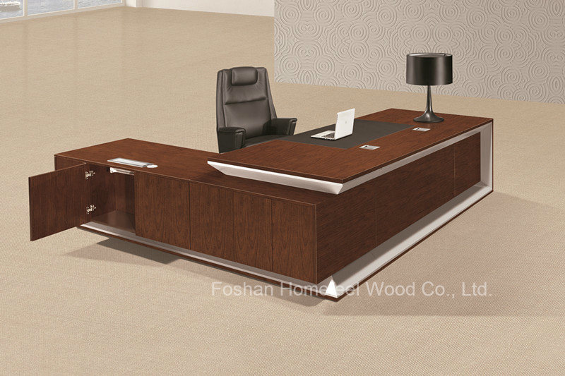 Superbe Modern Office Furniture Executive Office Desk Big Boss Office Table  (HF LW0100)