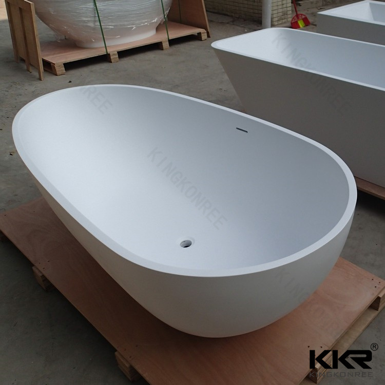 China New Design Acrylic Solid Surface Stone Freestanding Bath Tubs ...