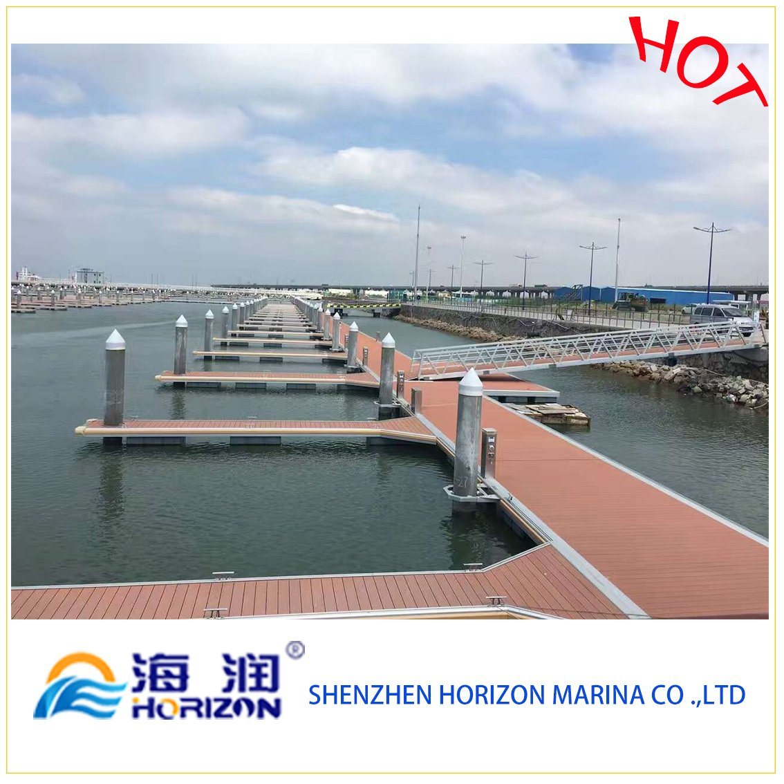 China Used HDPE Plastic Pontoon Dock Floats Have Foam Inside Stable