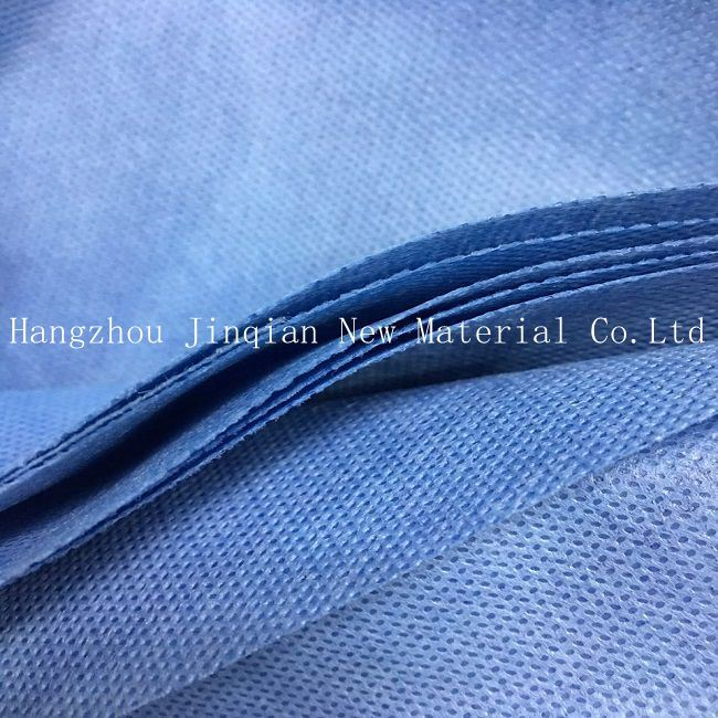 100% Polypropylene SMS Nonwoven Fabric Disposable Cubicle Curtains pictures & photos