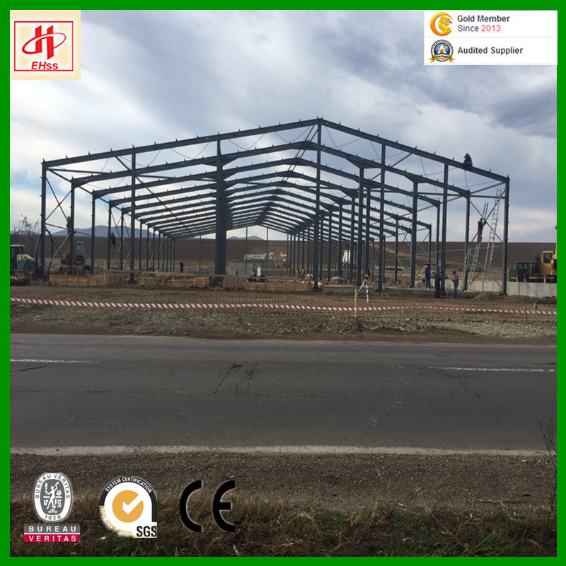 Steel Frame Warehouse Building for Shed pictures & photos