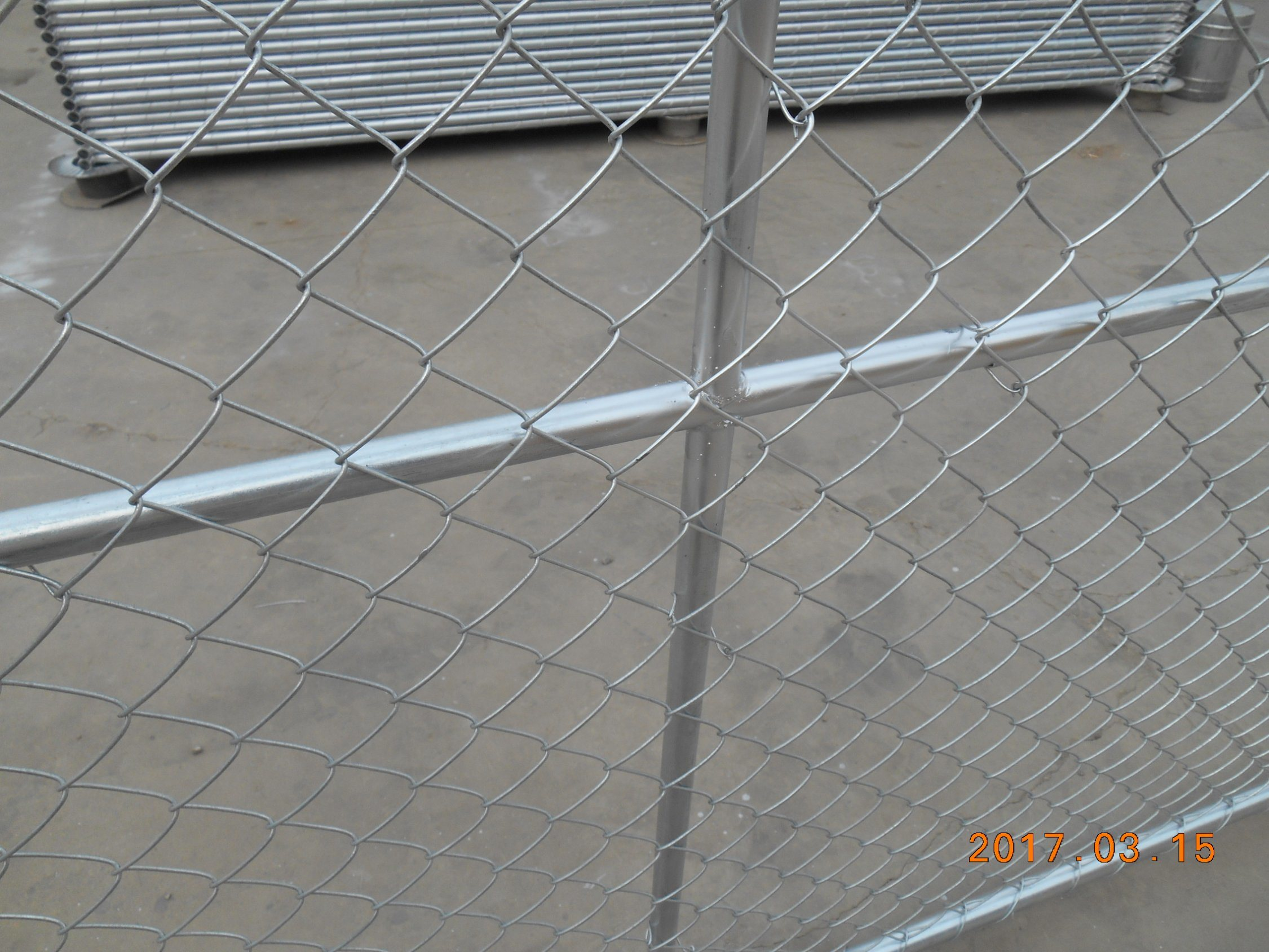 China Temporary Chain Link Fence Panels / Portable Metal Panels ...