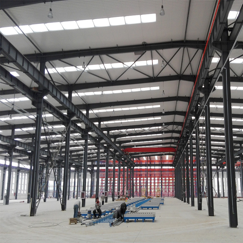 Free Drawing Steel Structure Prefabricated Building pictures & photos