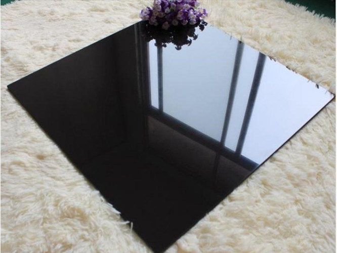 Low Water Absorption Super Black Porcelain Polished Tile pictures & photos