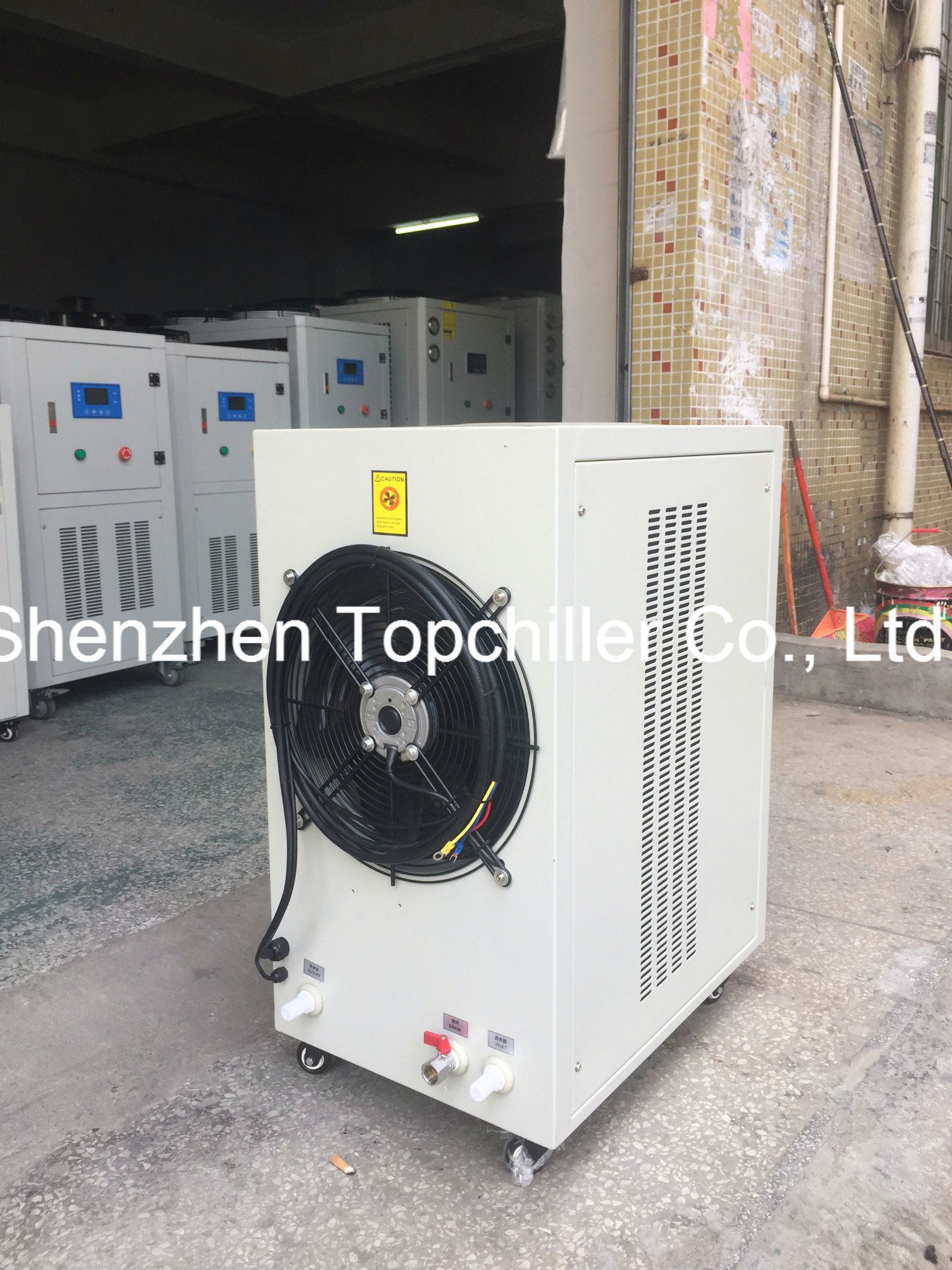 China 3.75kw Air Cooled Mini Chiller for Research Institute of ...