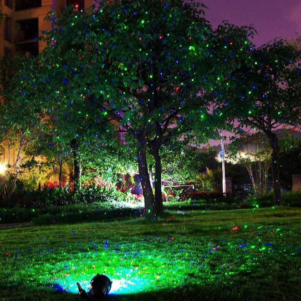 elf light china supplier outdoor waterproof cheap outdoor garden star laser shower tree dazzler christmas light