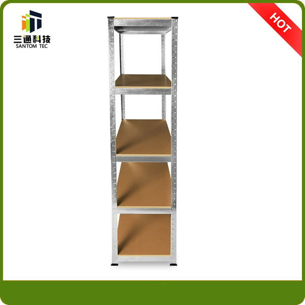Light Duty Slotted Angle Steel Shelf, Angle Iron Rack pictures & photos