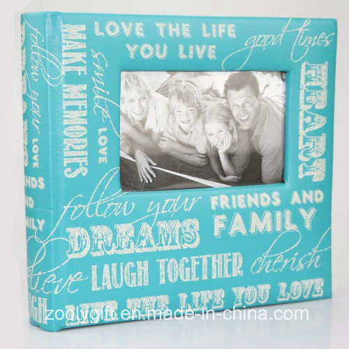 Slogan Art Photo Album Slip In Case Memo Photograph For 200 x 4 x 6/'/' picture