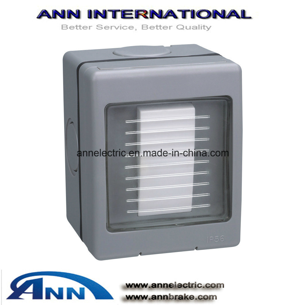 China At 120 1 Gang 2 Way Switch Weather Protected Switches Ip56 Retractive Weatherproof Socket