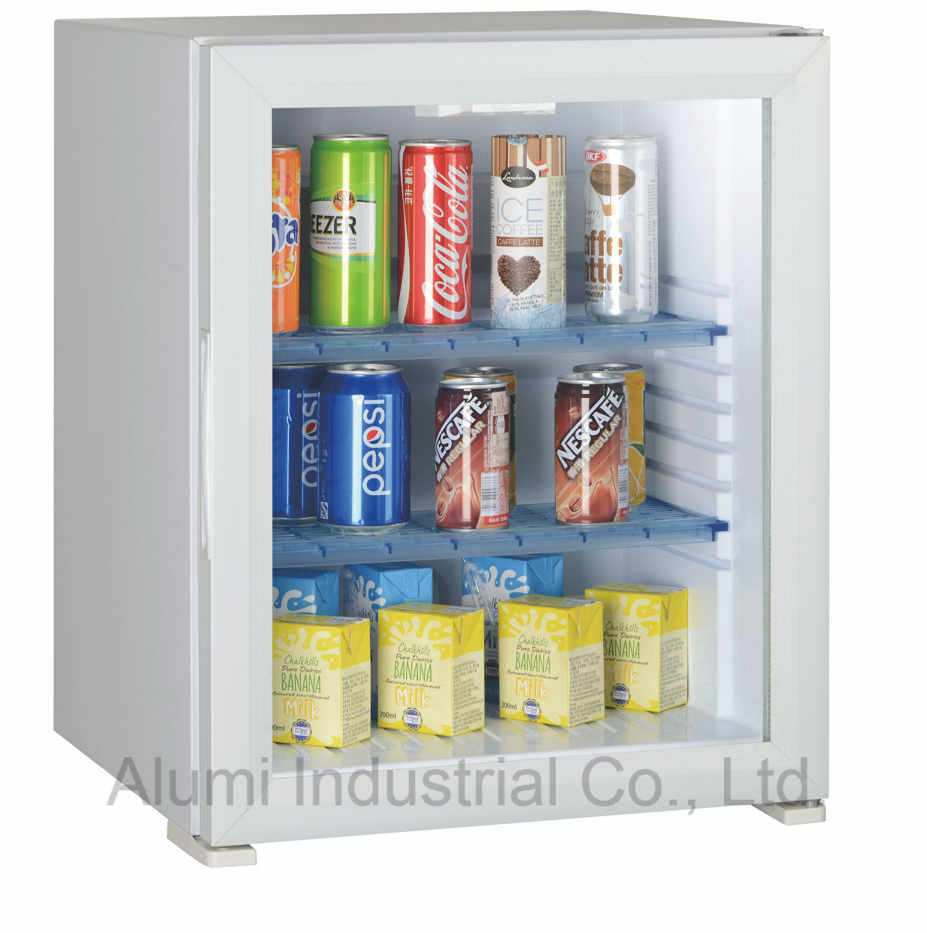 China 40l Absorption Caravan Minibar Refrigerator Fridge With Glass