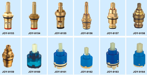 China Water Tap Parts Sink Faucet Fitting Ceramic Plastic And Brass Cartridge China Kitchen Faucet Ceramic Cartridge Sink Water Tap Brass Cartridge