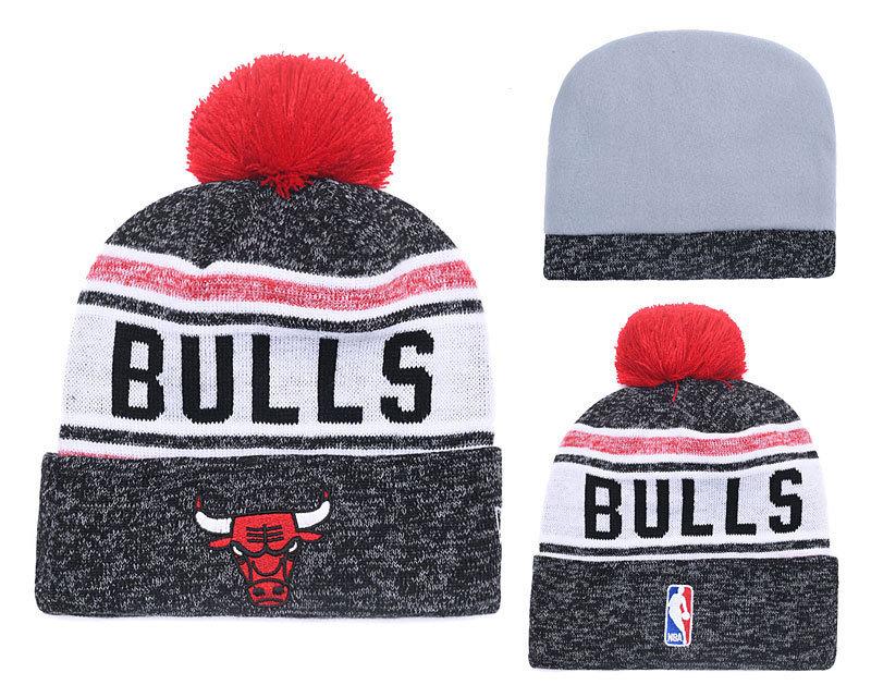 c2805920 [Hot Item] Bulls Snapbacks Adjustable Basketball Caps Knit Hats Sports  Knitted Beanies