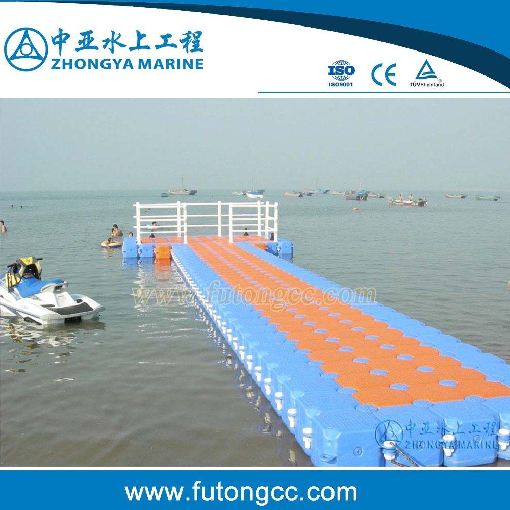 [Hot Item] Floating Plastic Cube Blue Plastic Dock Floats