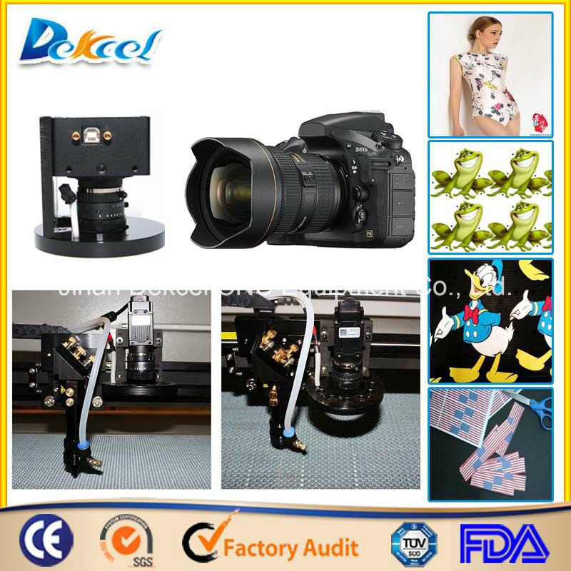 CCD Visual Camera Laser Cutting Machine Large Size Fabric/Leather/Logo/Label/Cloth Cutter pictures & photos