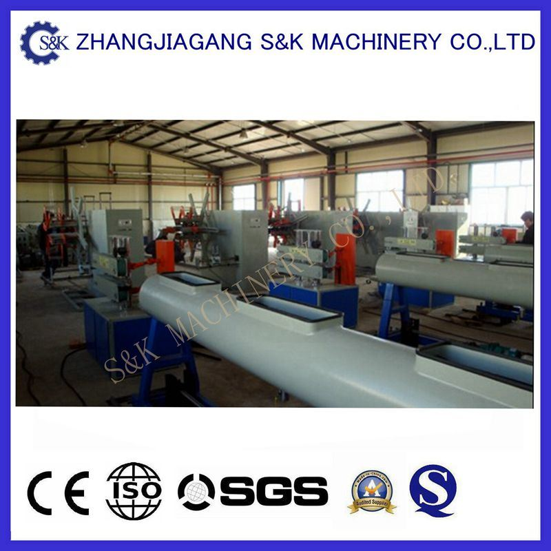U-PVC Pipe Extrusion Line pictures & photos