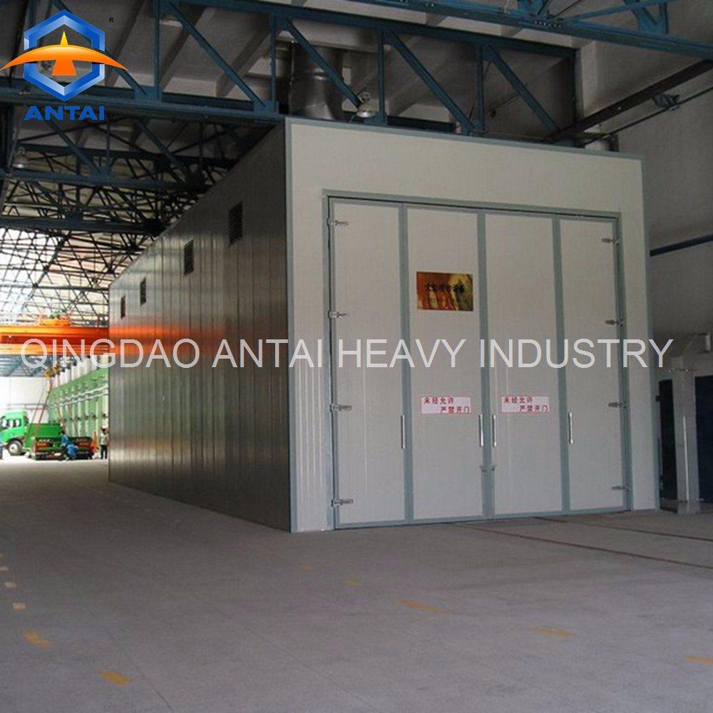 [Hot Item] Industrial Sand Blasting Cabinet/ Sand Blasting Room/ Sand  Blasting Booth for Sale