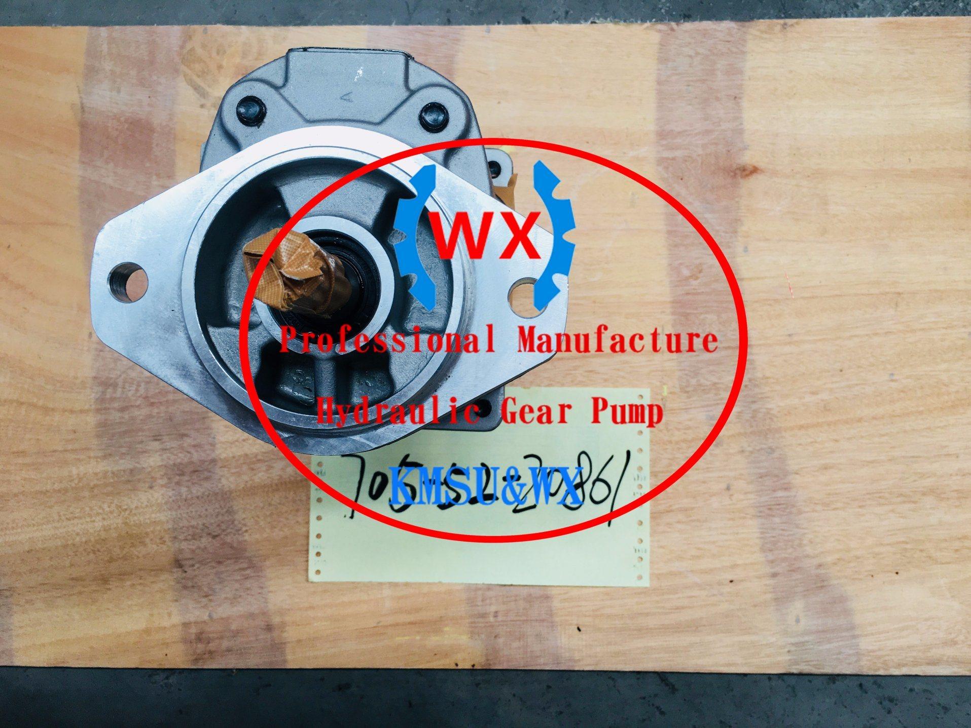 China Komatsu Part No: 705-52-20861hydraulic Gear Pumps Oil