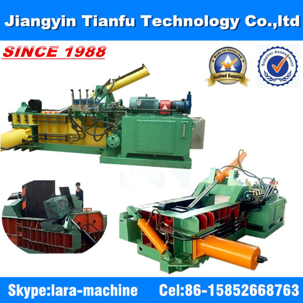 Metal Scrap Compressor Iron Copper Aluminum Packing Machine