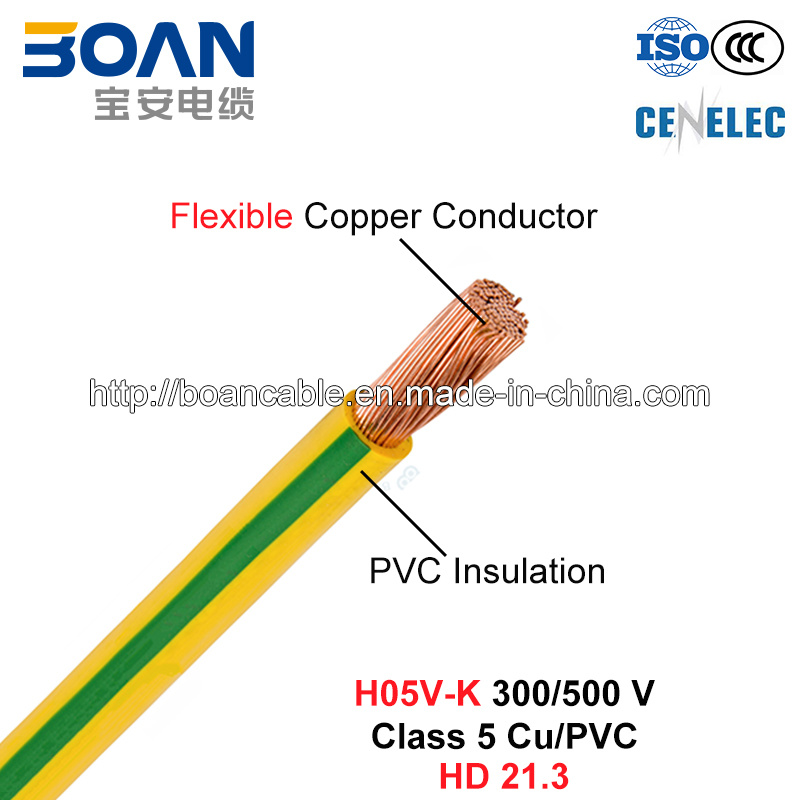 Pvc Class 5 Cable : China h v k house wiring electric wire