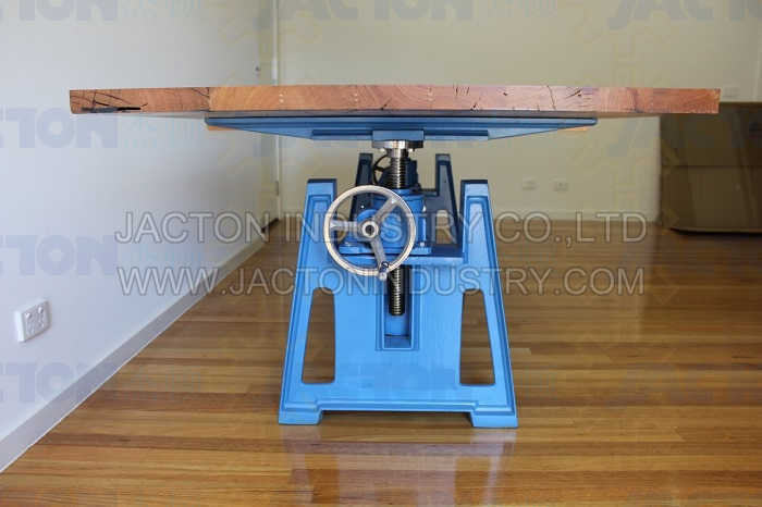China Adjustable Height Workbench Table Lifting Screw Jack