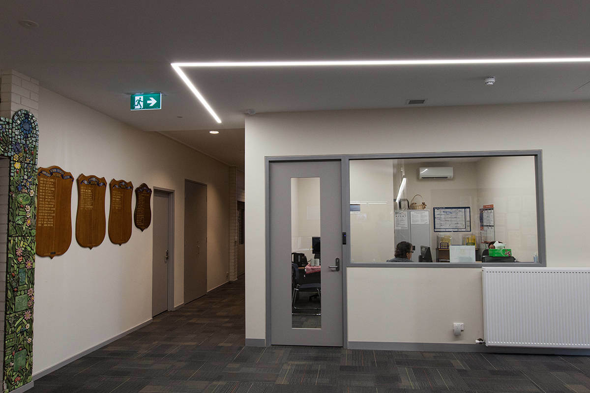 China Recessed Mounted Led Linear Light