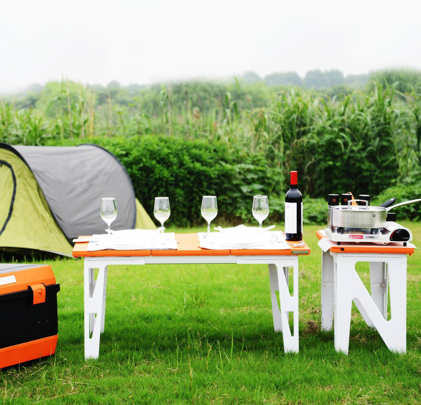 China Outdoor Camping Kitchen Kit For Family Party China Camping Kitchen And Picnic Kitchen Price