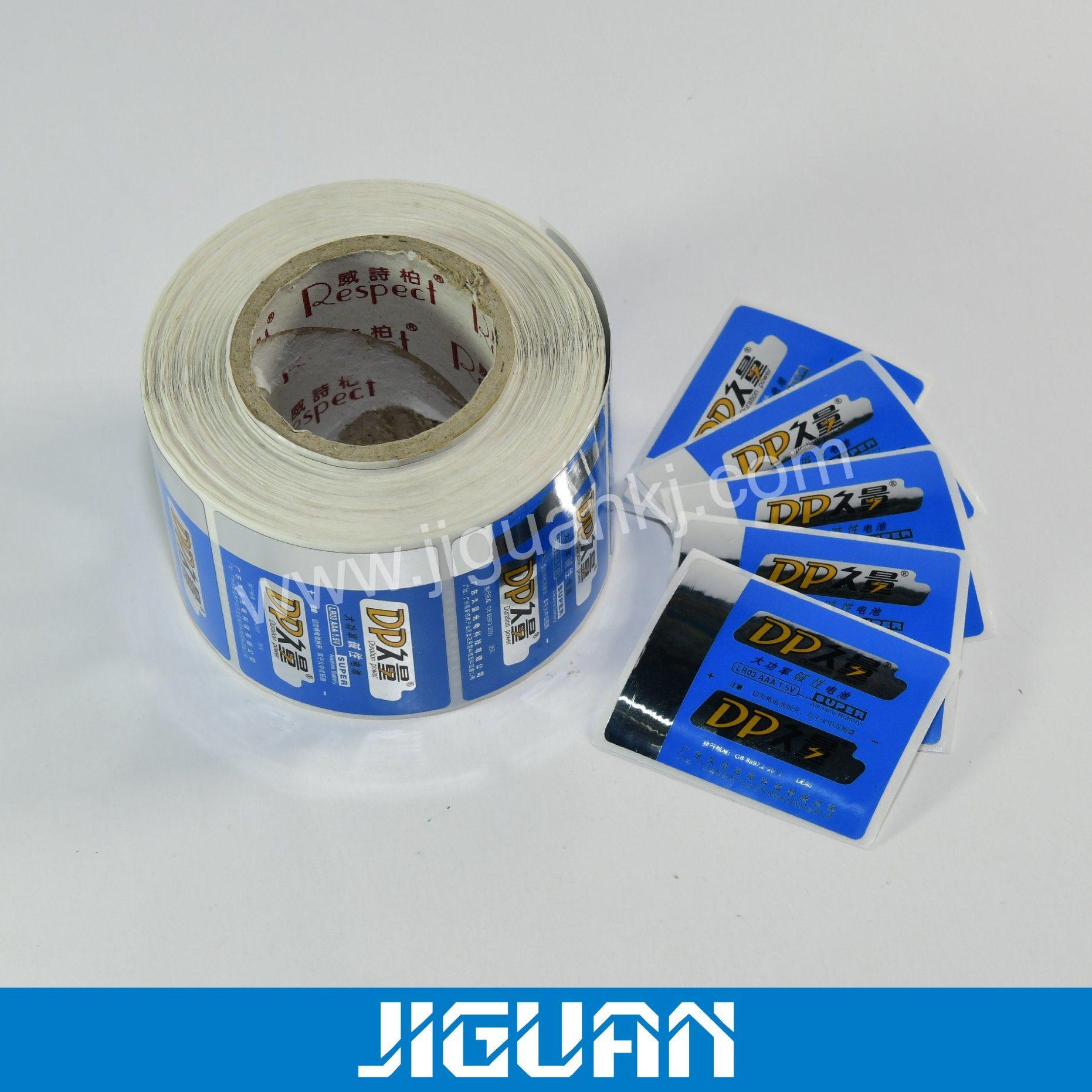 China Printed Logo Die Cut Paper Custom Adhesive Label Stickers