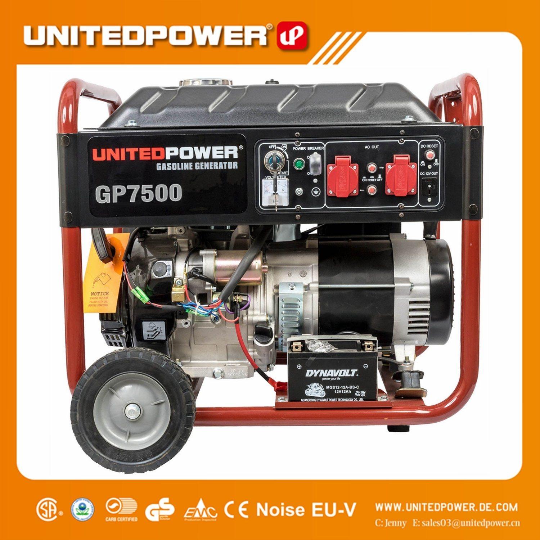 China 5kw 6kw 7kw 5kva 6kva 7kva 14hp Small Portable Gasoline Generator For Generac Silent 4 Stroke