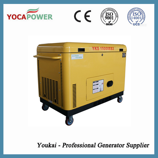 Electric Silent Generator 10 kVA Motor Generator Sets pictures & photos