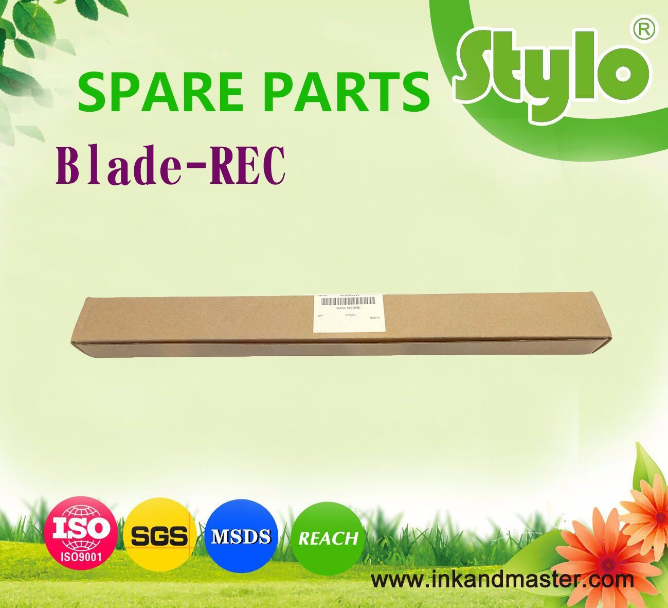 Recover Blade 6le540200 for Use Toshiba Printer