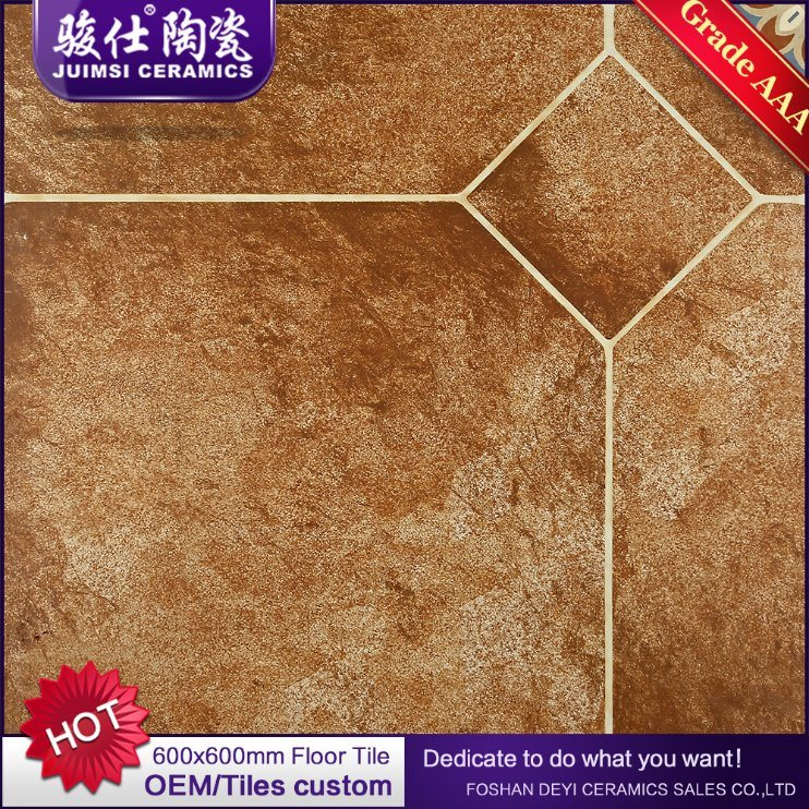 China Foshan Supplier Red And Black Discontinued Ceramic Floor Tile