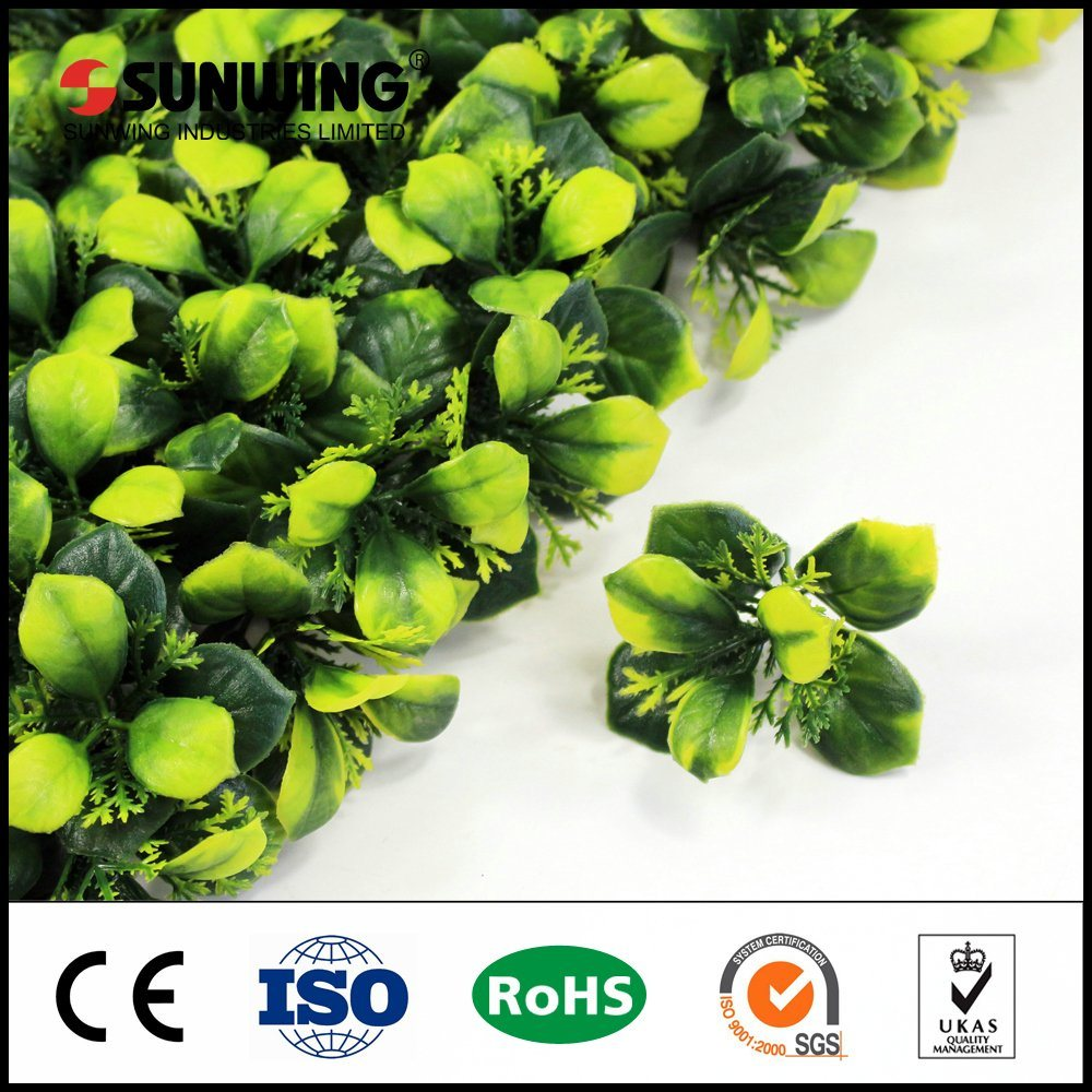 china environmental protection outdoor artificial box hedge plants