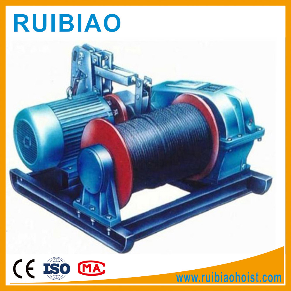 China Jm Serials Electric Wire Rope Hoist Winch - China Wire Rope ...