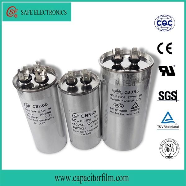 China Cbb65 Motor Start Oil Filled Capacitor China Film Capacitors Cbb65 Capacitors