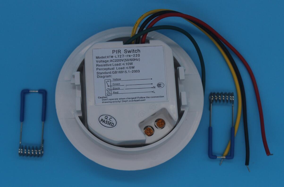 China Wiring Outdoor/Indoor Infrared Light/Human Alarm Passive ...