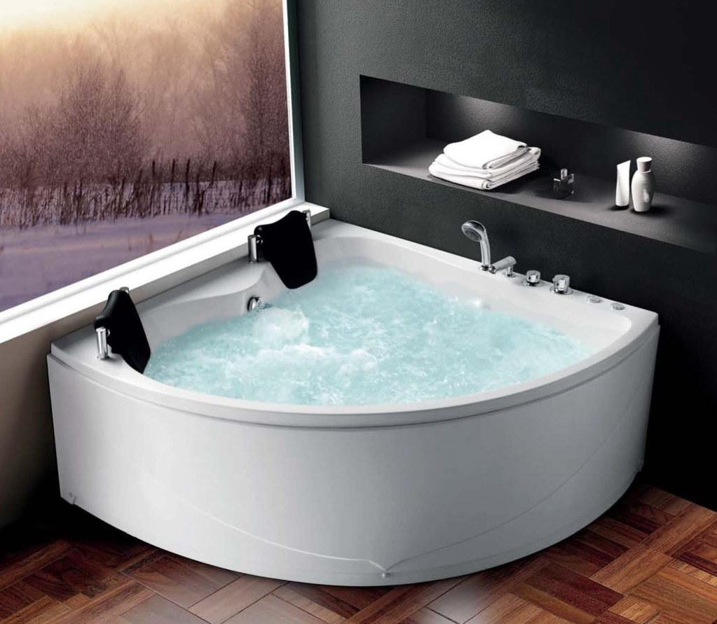 China Acrylic SPA Bathtub with Massage, Air Bubble Function Photos ...