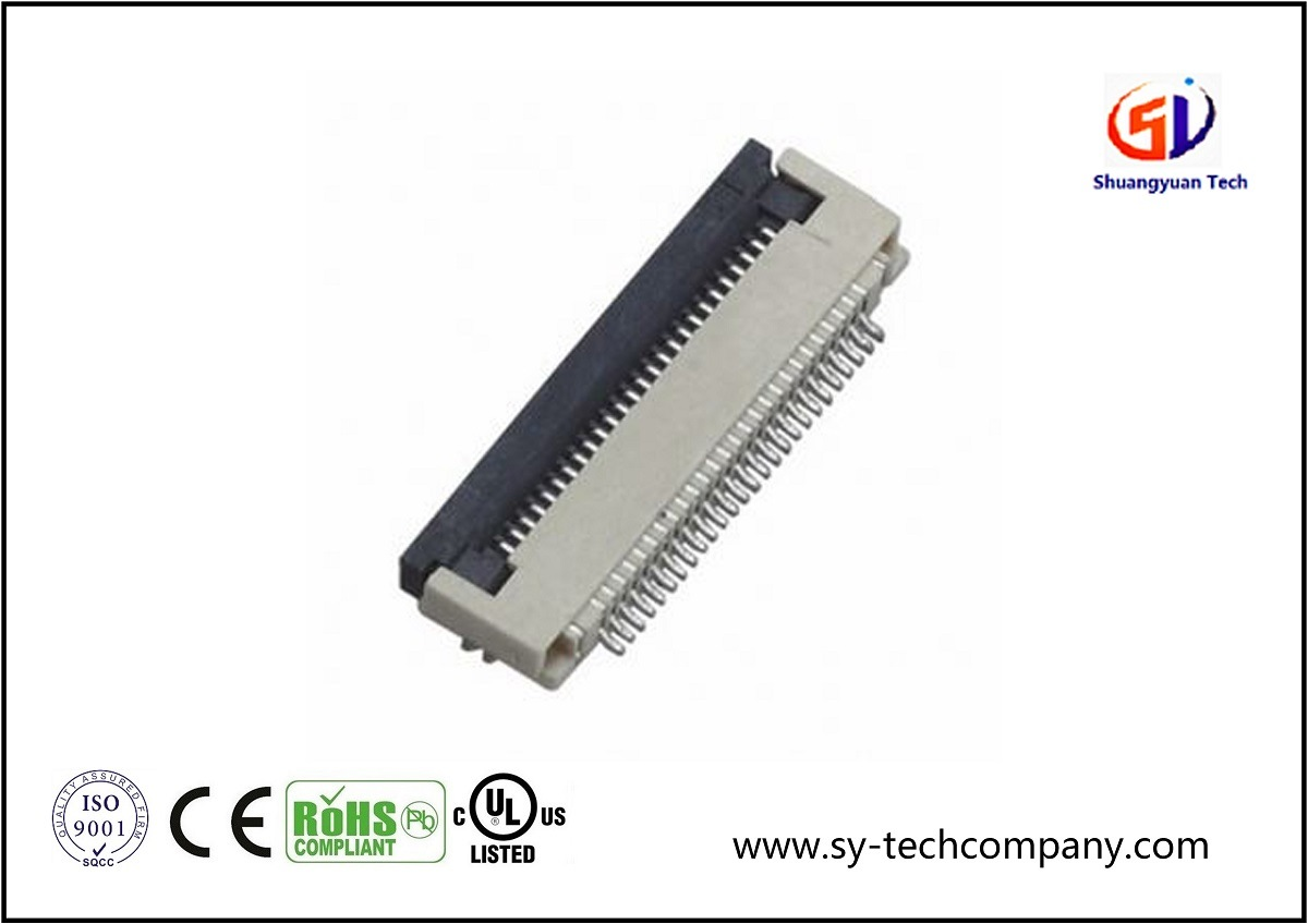 Wire to Board Connector with 0.5 FPC 90 SMT