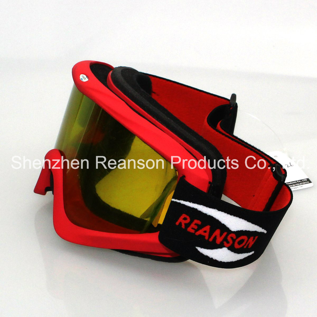 Reanson Professional Anti-Fog Anti-Scratch Motocross Goggle pictures & photos