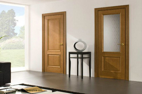 China 900mm Width Premade Solid Oak Wood Interior Doors For Homes   China  Interior Doors, Wooden Door