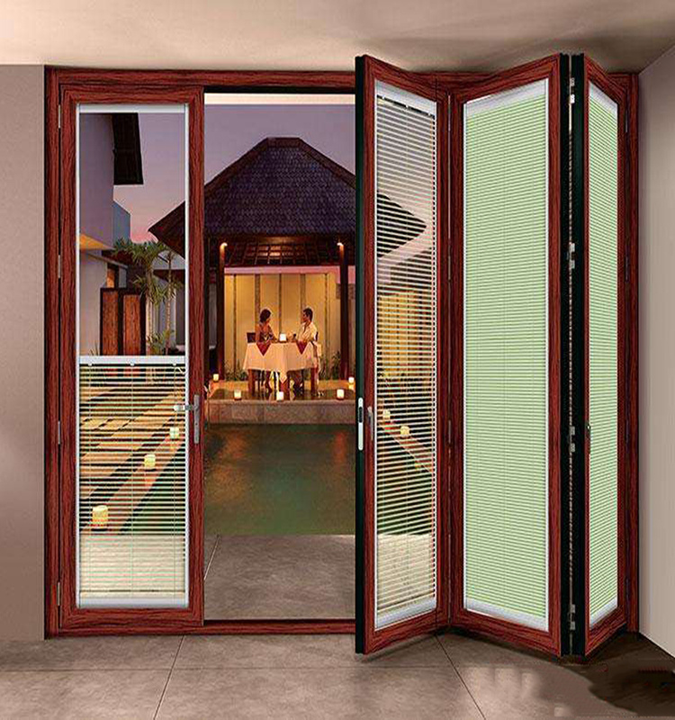 China High Class Lowes Interior Pocket Dutch Glass Doors With