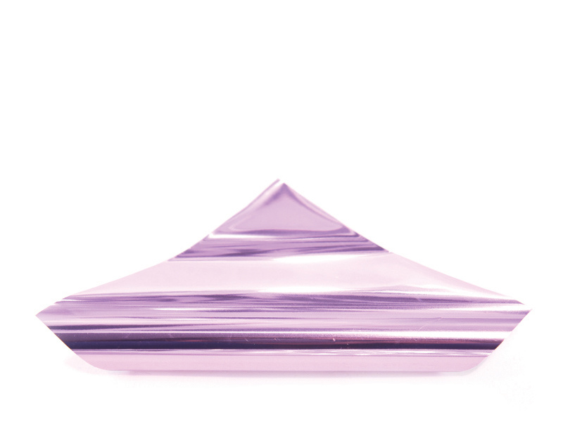 China Light Pink Purple Color Hot Stamping Foil Heat Transfer Aluminum