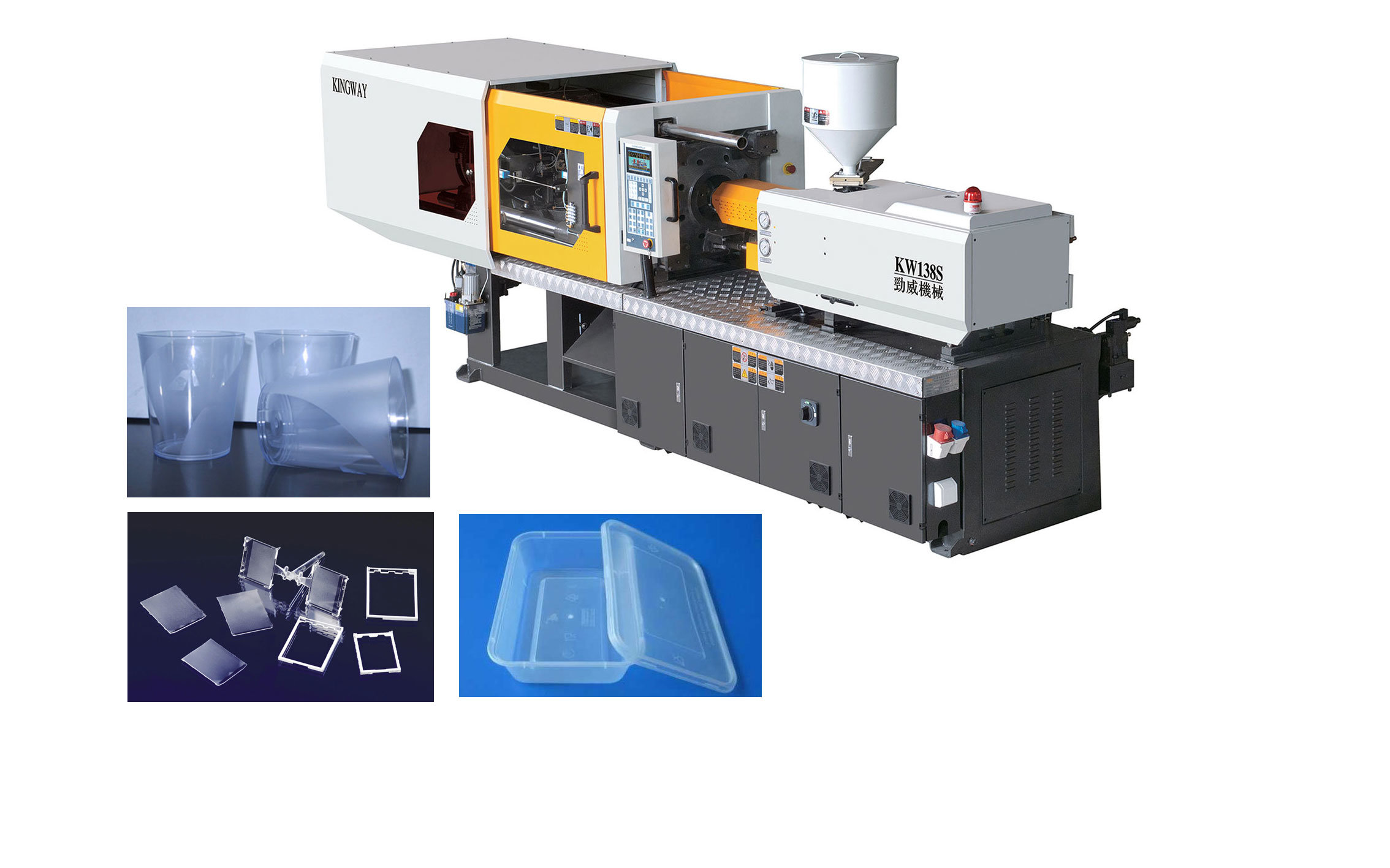 Servo Energy Saving Injection Molding Machine for Thin Walled Parts
